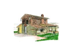 Farm House, Tuscany, Italy