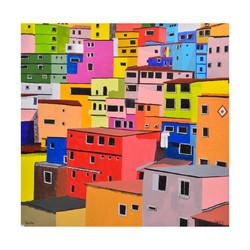 Caracas, 2017, Acrylic on canvas,