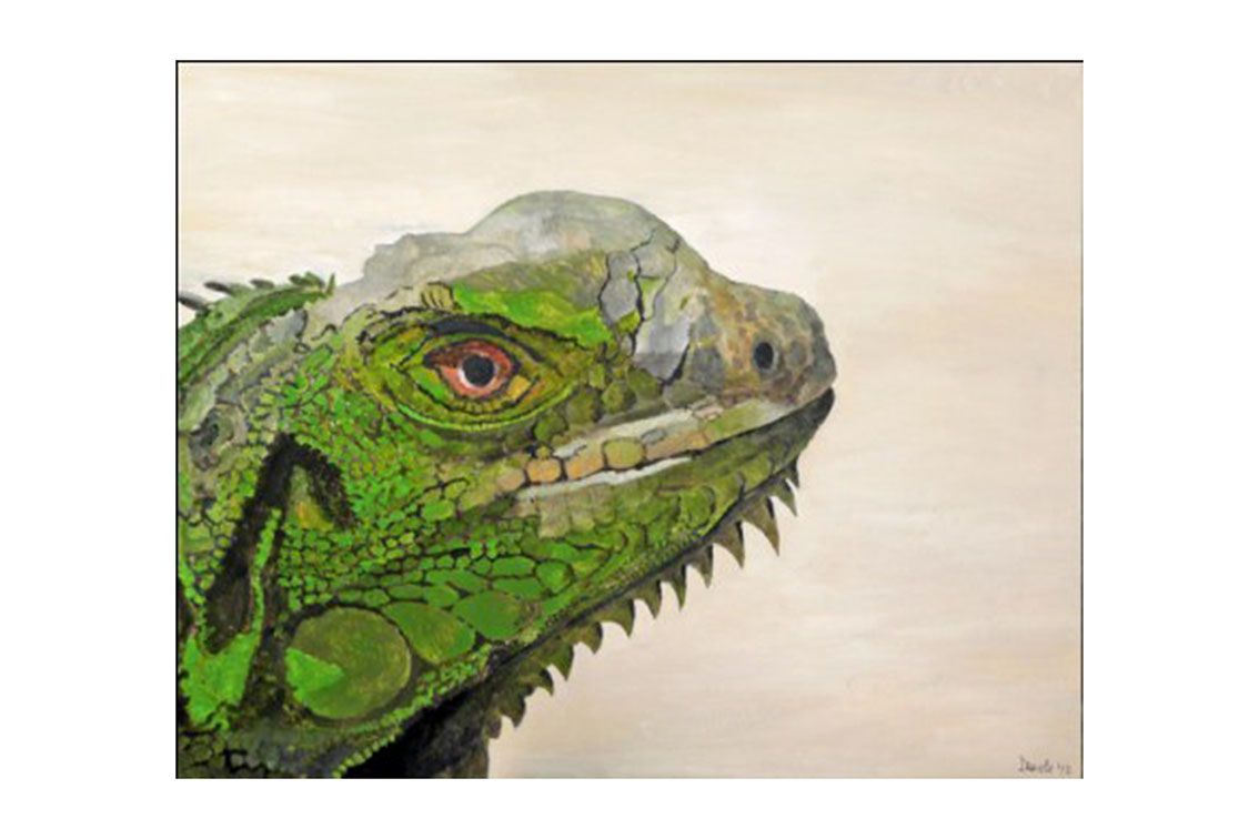 Iguana - 2012 - acriylic on canvas - SOLD
