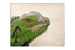 Iguana - 2012 - acriylic on canvas - SOLD