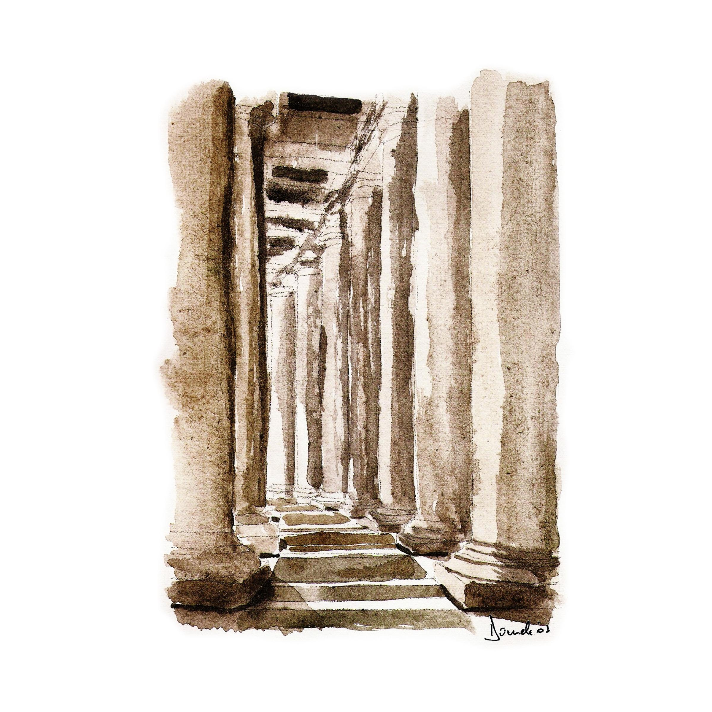 Bernini Columnade, Roma,