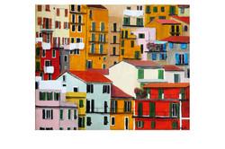 Liguria, 2010, Acrylic on canvas, 20'' x 16''