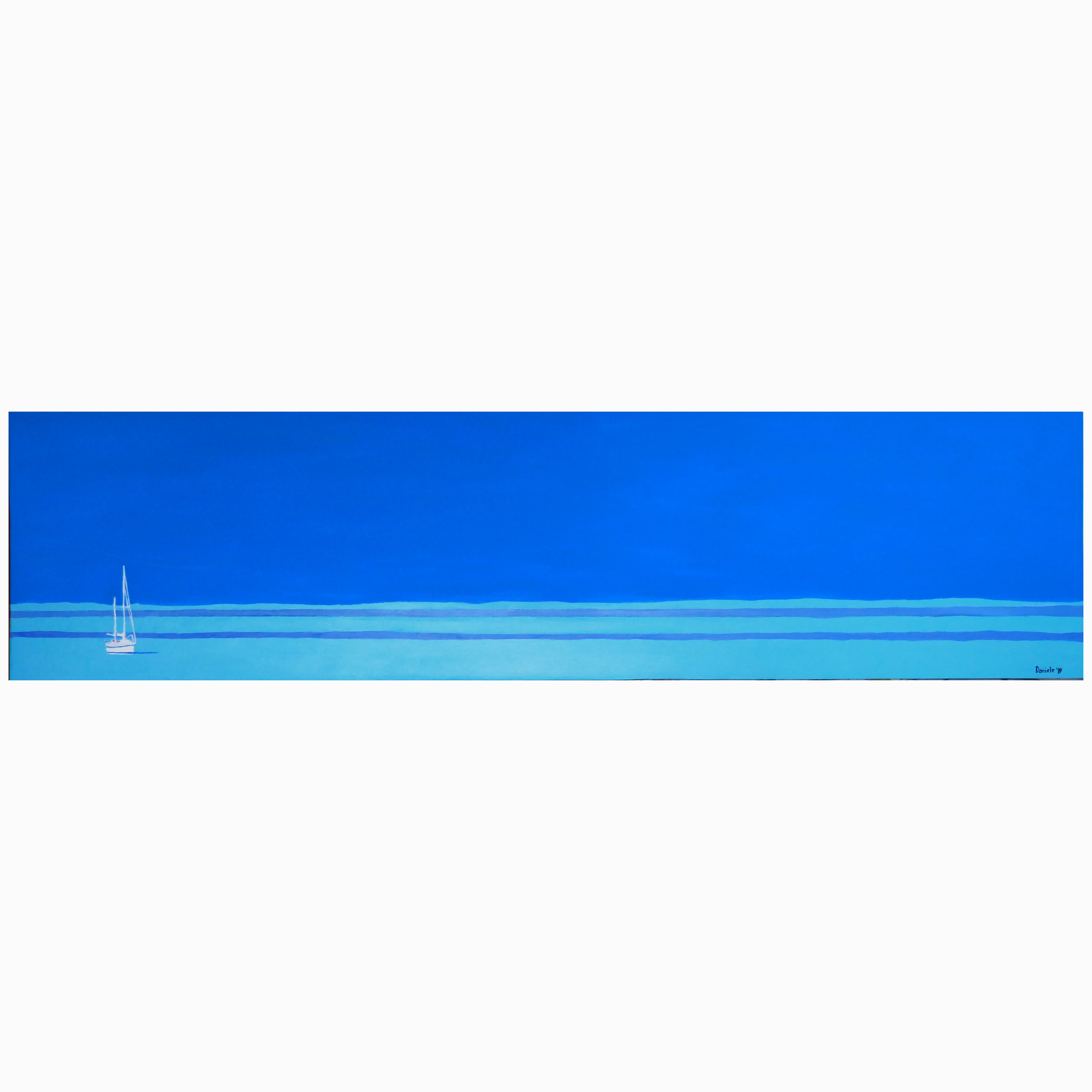 27. White sailingboat