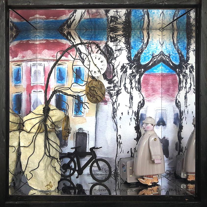 VILETTE Chantal, FAURE Fabien, OREL Frédéric - Peintures, Installation, Sculptures, Photographies
