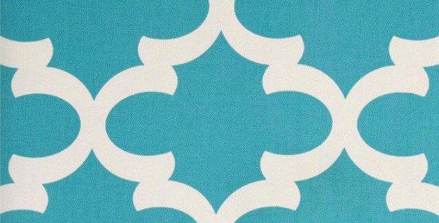 Caribbean Blue Outdoor Fabric