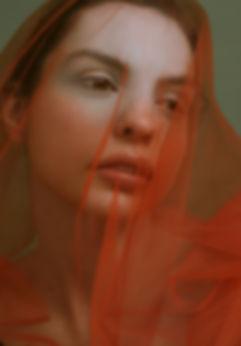 Experimental beauty photography