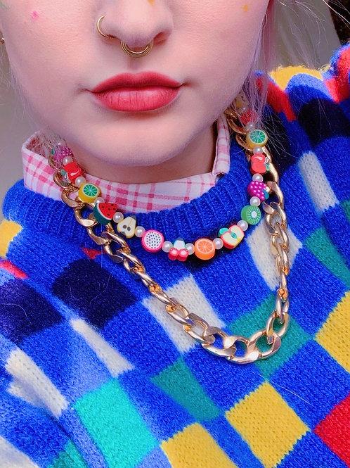 Fruit salad - necklace