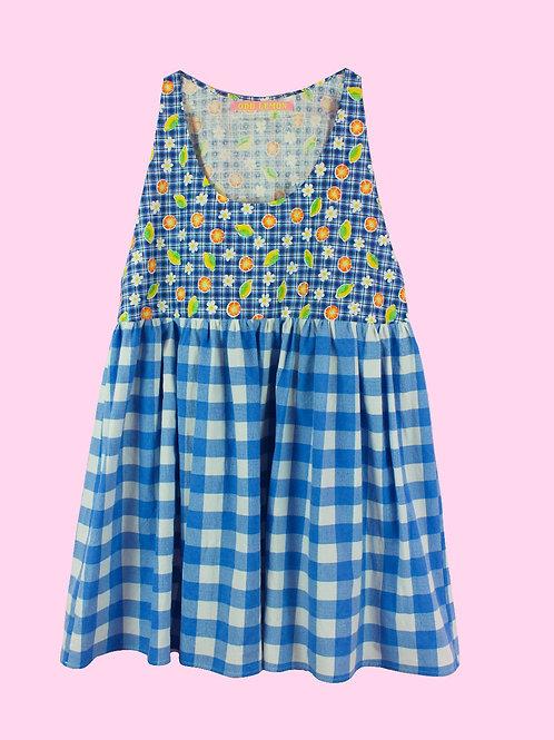 ODD Citrus - POP ON PINAFORE DRESS -01