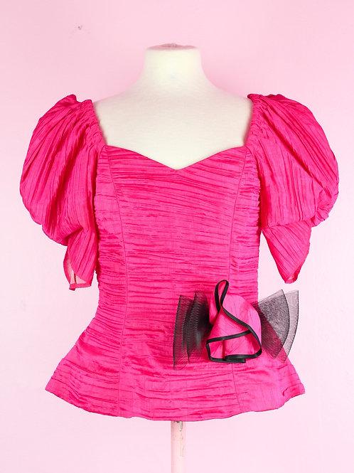 Pink puff - Vintage top - M