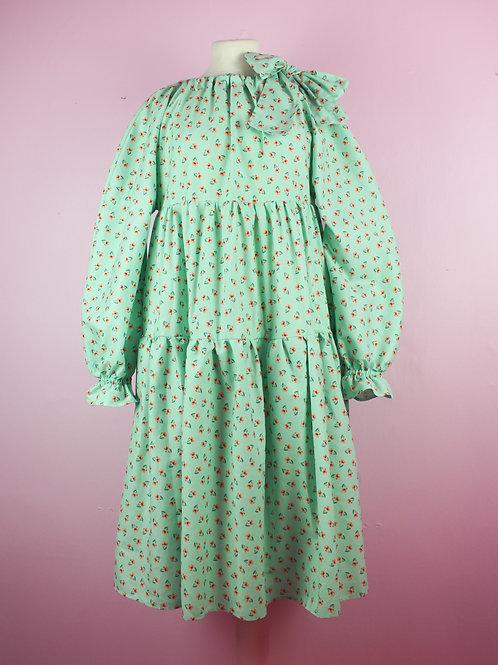 Flower daze - bow bow dress