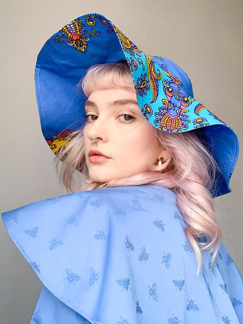 wonder patterned Hat - ReMade