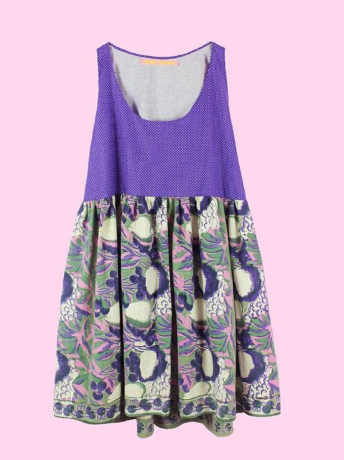 Purple - POP ON PINAFORE DRESS - 02