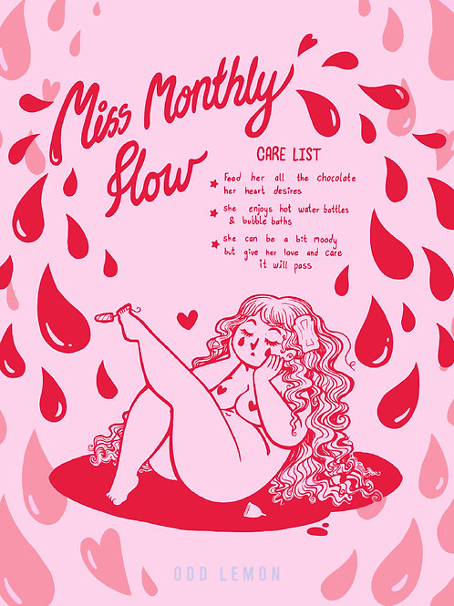 Poster - Miss Monthly Flow