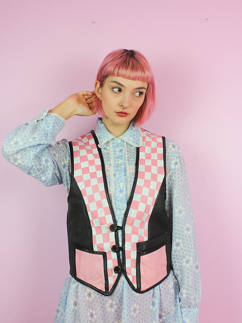 Checkers - Vest - Painted remade
