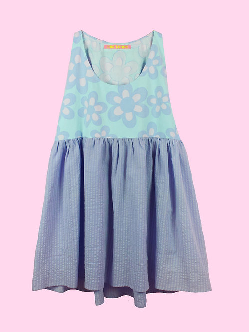 Soft flowers - POP ON PINAFORE DRESS -0 1