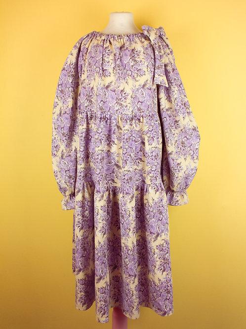 Purple romance - BOW WOW dress S/M