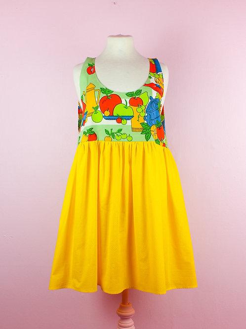 Fruity - POP ON PINAFORE DRESS -01