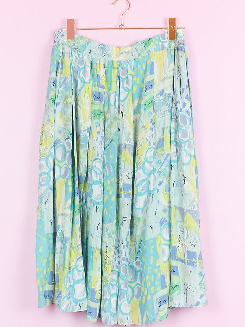 Greenery - Vintage skirt - XXL