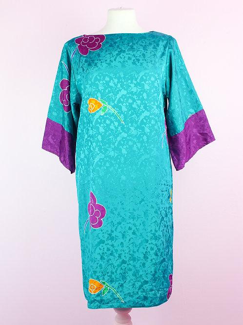 Silky - Vintage Dress - M