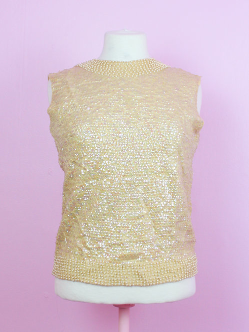 Pearly - Vintage top