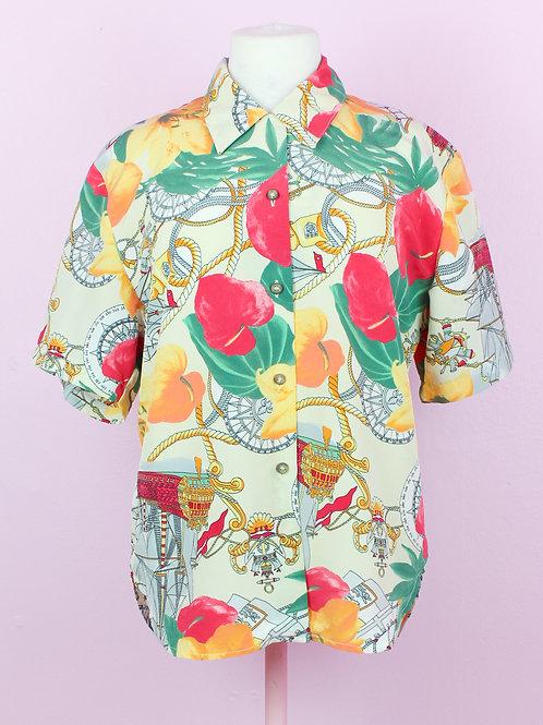 Sail me away - Vintage shirt - M