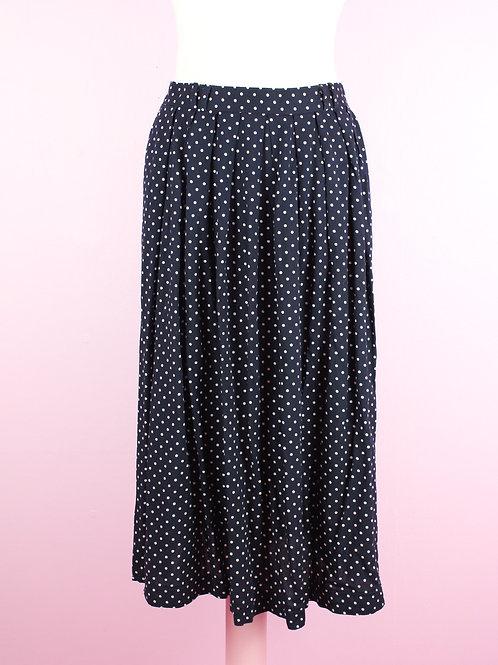Polka dotti - Vintage skirt L/XL