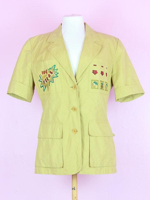 ICEBERG - vintage short sleeve blazer
