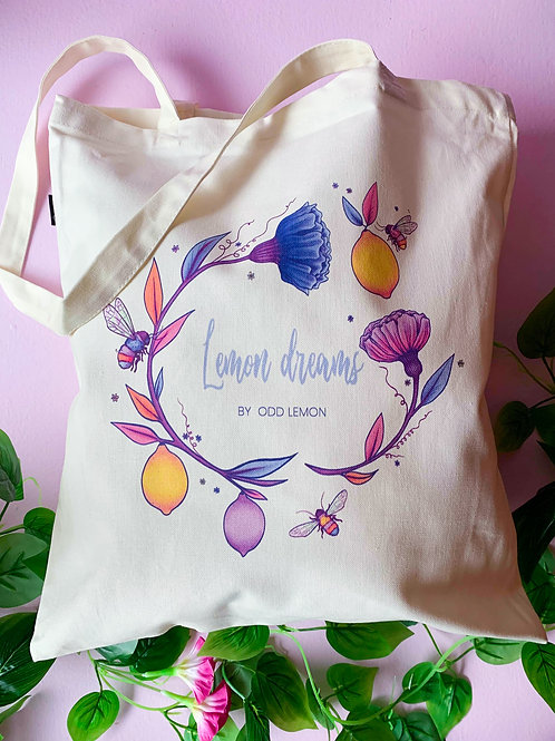 Lemon dreams- tote bag