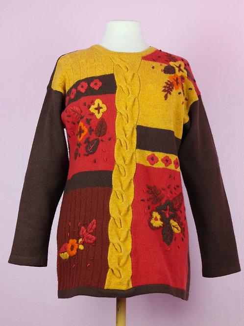 Golden tones - Vintage knit