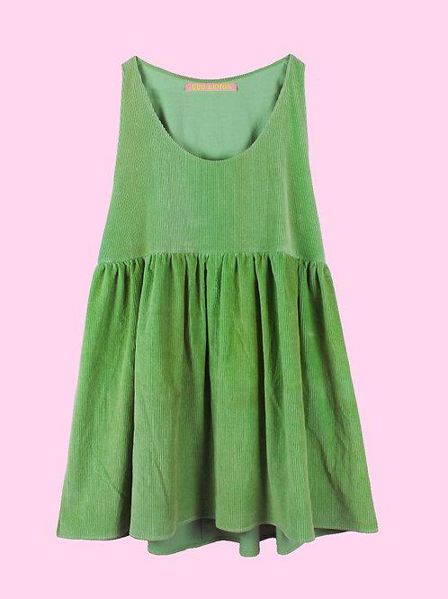 Greenie - POP ON PINAFORE DRESS - 02