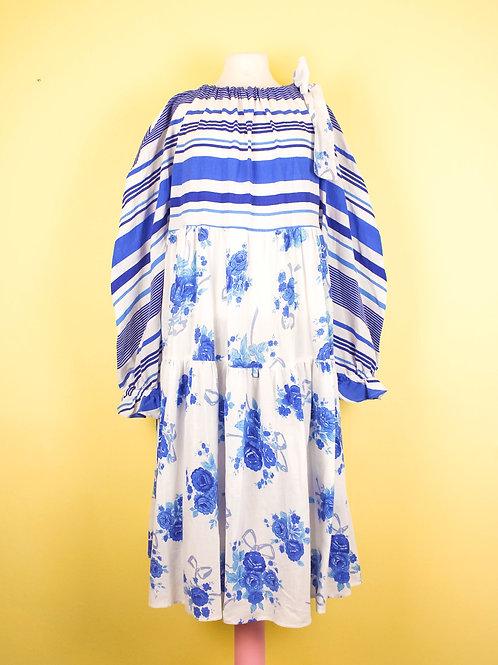 Blues - BOW WOW dress -  L/XL