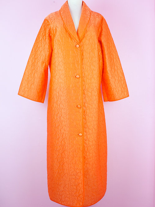 Orange sherbet - Vintage Robe - M/L