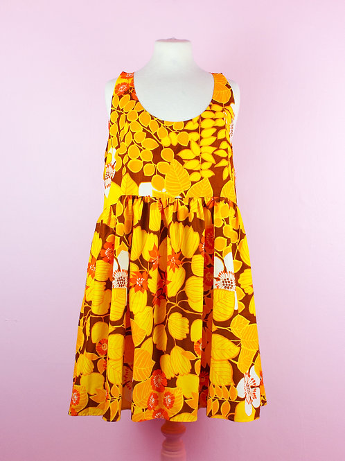 Autumnal Dream - POP ON PINAFORE DRESS - 02