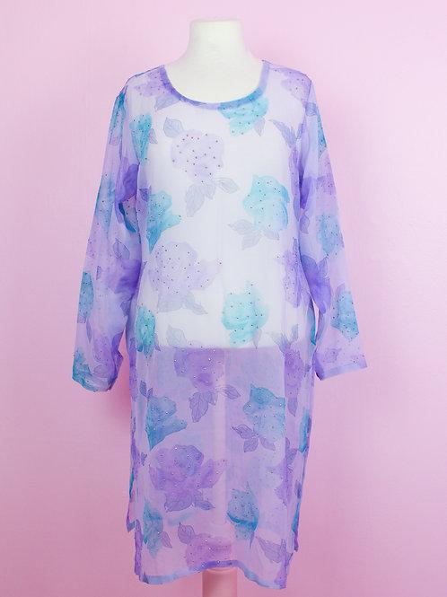 Sheer magic - Vintage dress - S