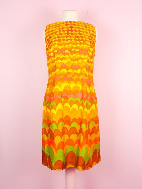 Sunrise - Vintage Dress - S