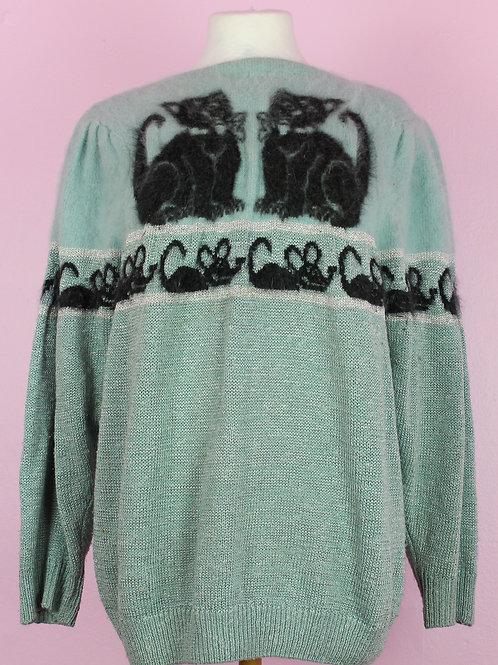 Cat & Mouse - vintage knit
