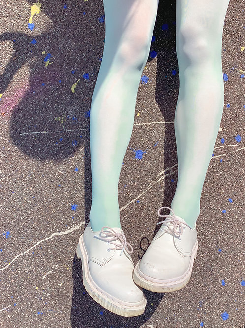 Pastel green Legs - Tights
