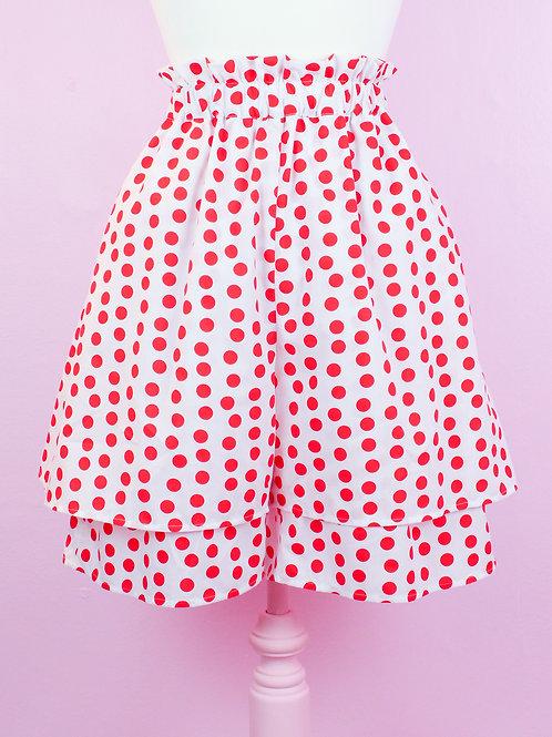 Polka Dotti Clown Shorts - Citrus Circus