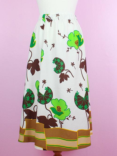 Spring green - Vintage Skirt