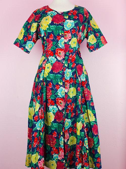 Sicily flower - vintage dress