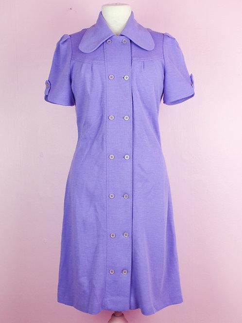 Pastel purple cutie - Vintage Dress S/M