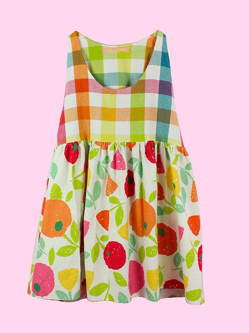 Rainbow wonder - POP ON PINAFORE DRESS - 02