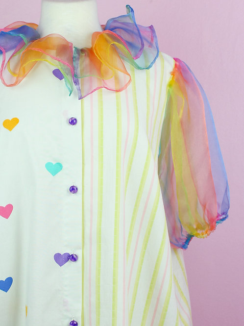 Rainbow Bubble Top -Remade  - 03