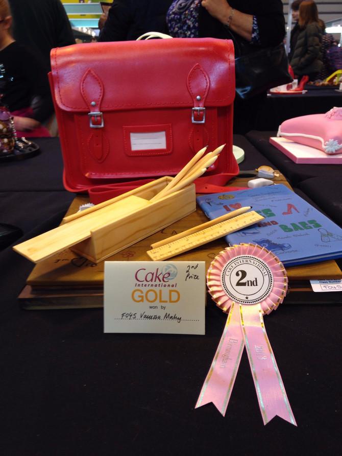 Cake International 2013 - 2nd place