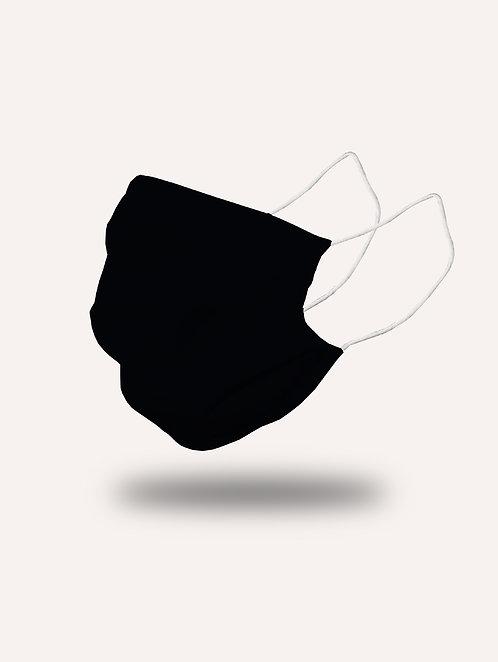 """Masque """"le Trendy"""" noir - Pack de 2"""
