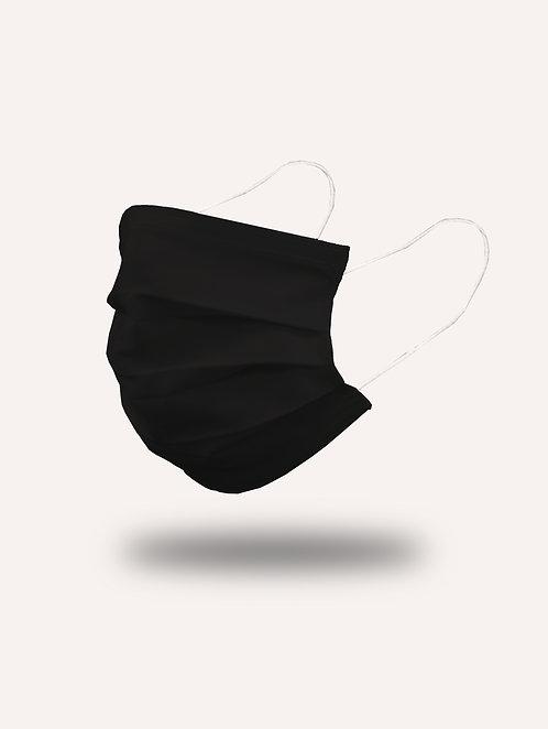 """Masque """"le Citadin"""" noir - Pack de 2"""