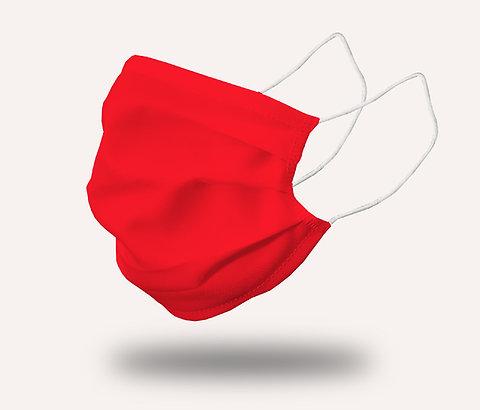 """Masque """"le Trendy"""" rouge amour - Pack de 2"""