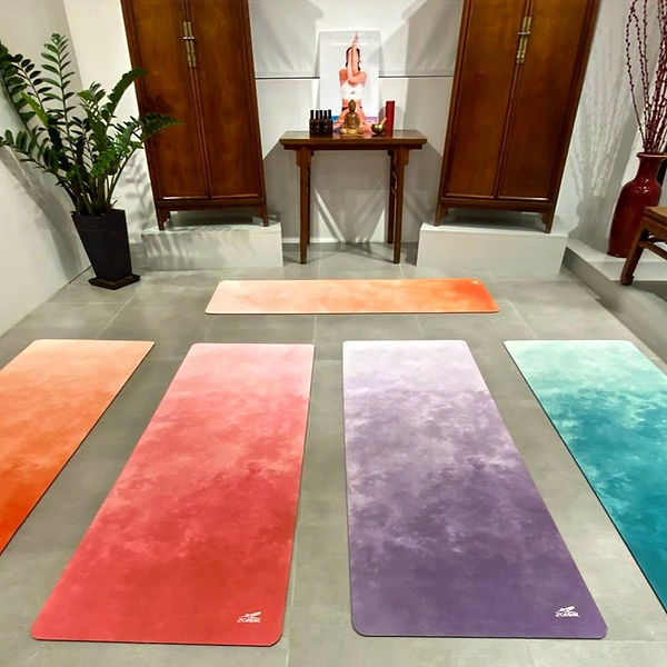 The Zohm yoga mats are here!