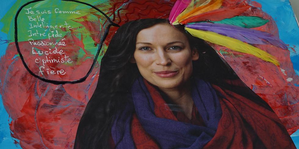L'intelligence du coeur et oser ses couleurs: atelier du Journal Créatif