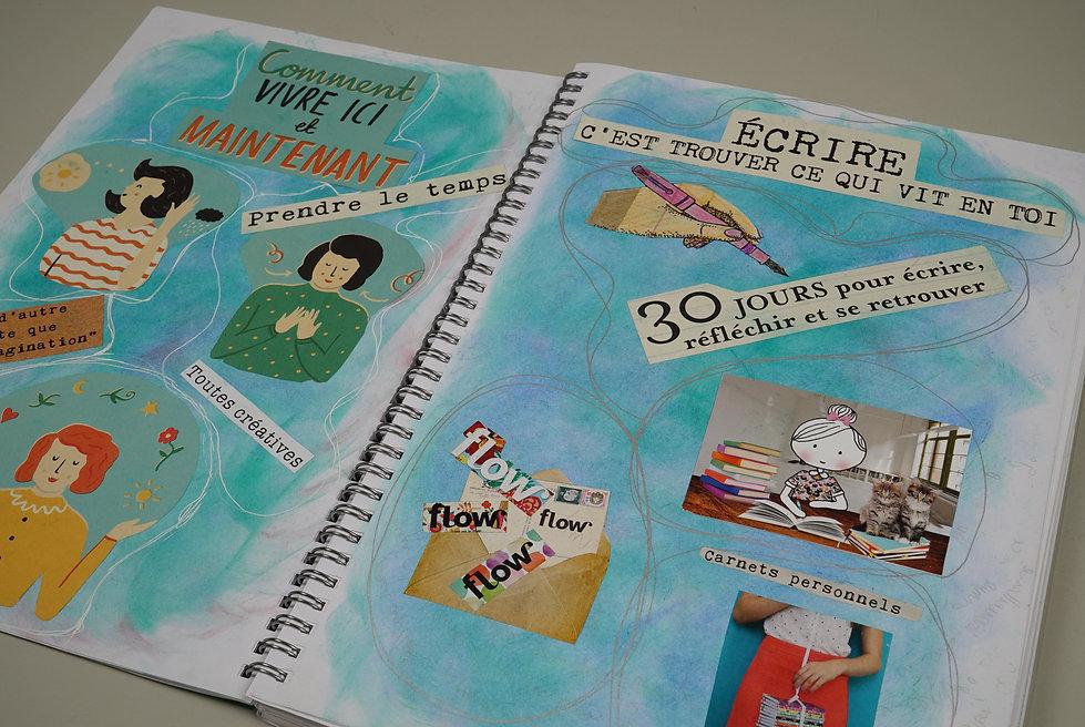Le Journal Créatif à visée thérapeutique  Le Journal de Burn-out et/ou de Transition